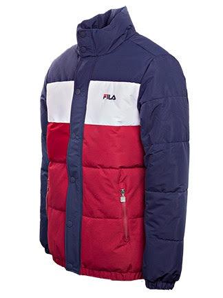 Men\'s Fila Pelle Puff Jacket Dark Blue online. Global deliveries. - Aukia  Menswear