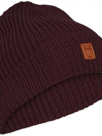Knowledge Cotton Apparel Leaf beanie