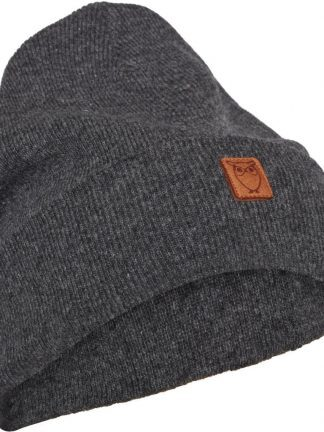 Knowledge Cotton Apparel wool beanie