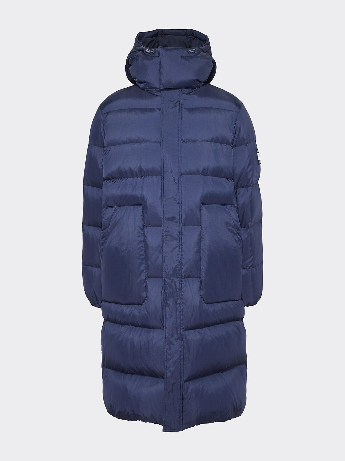 new appearance new list low priced Buy Men's Tommy Jeans Long Padded Parka Blue Online ...