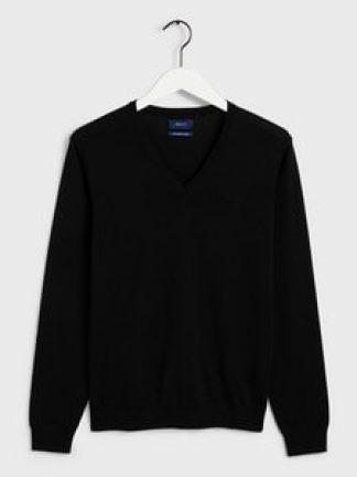 Gant-merino-sweater-black