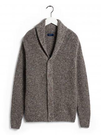 Gant neps shawl cardigan