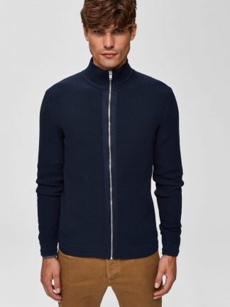 Selected Oliver high neck cardigan