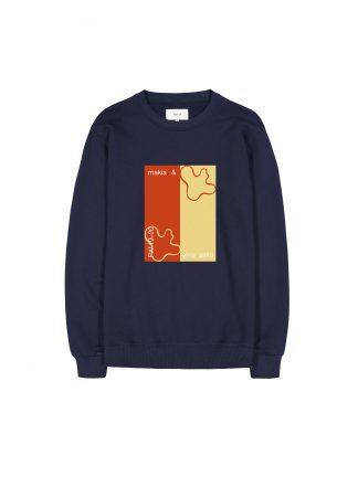 Makia x Aalto Lines sweatshirt
