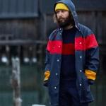 Makia X Tretorn rain jacket