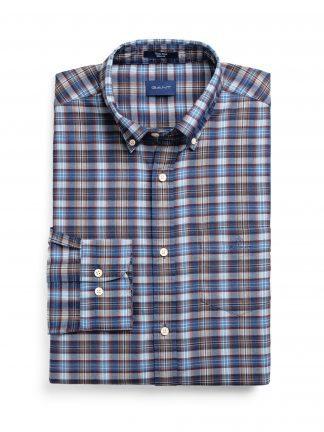 Gant Indigo check shirt