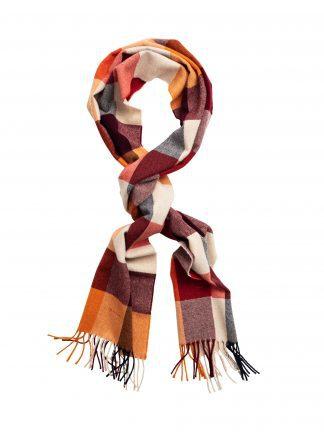 Gant check scarf