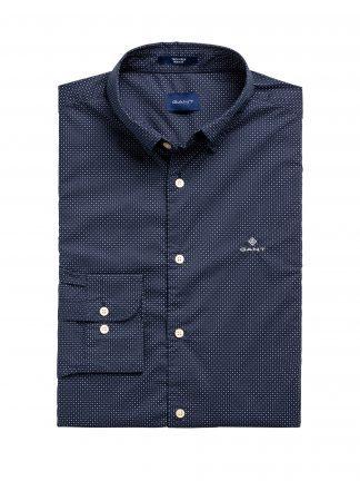 Gant micro print shirt