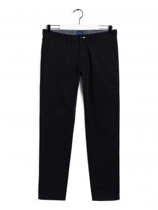 Gant black twill chinos