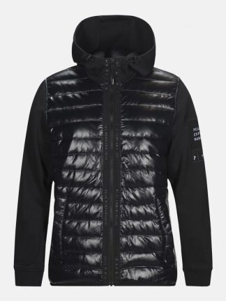Peak Performance Hybrid zip jacket
