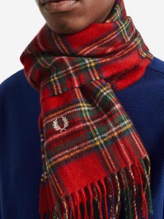 Fred Perry Tartan scarf