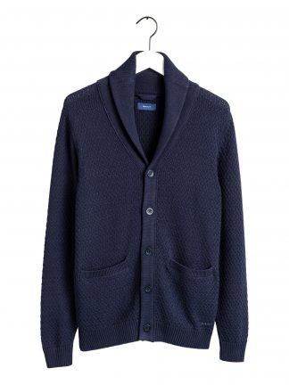 Gant shawl collar cardigan