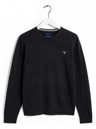Gant Superfine lambswool grey