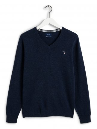 Gant Superfine lamswool v-neck