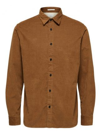 Selected corduroy shirt