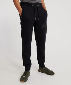 Superdry tonal taped joggers