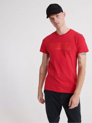 Superdry block logo T-shirt