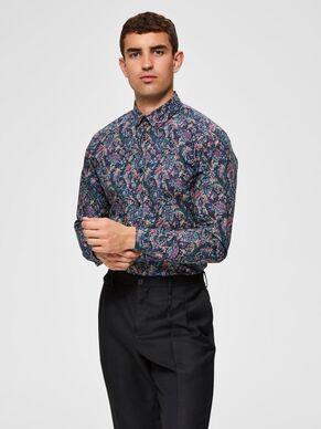 Selected floral print shirt