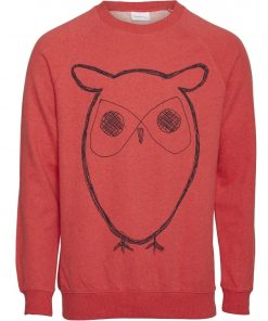 Knowledge Cotton Apparel Elm Big Owl Sweater