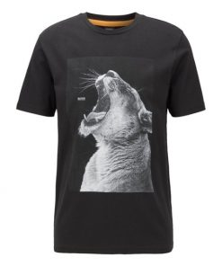 Hugo Boss t-shirt animal print