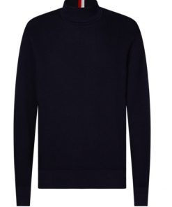 Tommy Hilfiger sleeve branded knit