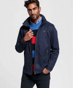 Gant Light Mid-length Jacket Evening Blue