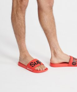 Superdry Pool Slide Red