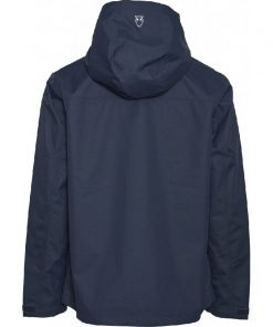 Knowledge Cotton Apparel Save Water Jacket Blue