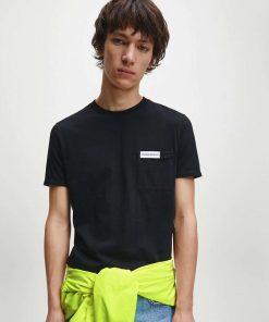 Calvin Klein Jeans Pocket Tee Black