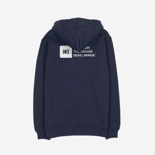 Makia Dylan Hooded Sweatshirt Dark Blue