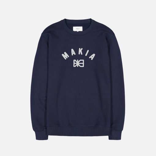 Makia Brand Sweatshirt Dark Blue
