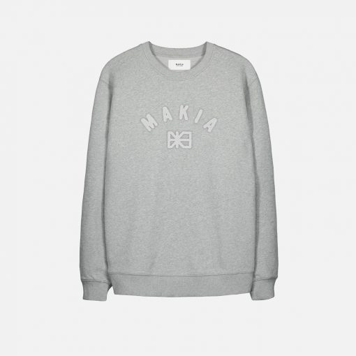 Makia Brand Sweatshirt Grey